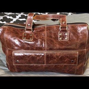Danier leather satchel